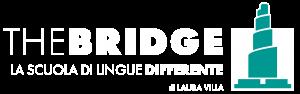 logo bianco the bridge cuneo